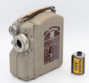 Caméra Camex ERCSAM Vers 1950 Objectif Som-Berthiot 1,9/12,5 mm N°G59517 Cinor B