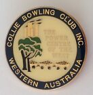 Collie Bowling Club Badge WA Power Centre Of The West Rare Pin Vintage (M12)