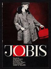 3w02405/ Alte Reklame von 1961 - JOBIS Mode - Bielefeld