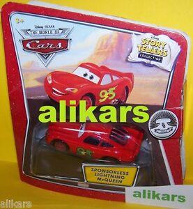 ST - SPONSORLESS Lightning McQueen - Story Tellers Disney Teller Cars Mattel new