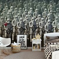 Wall Mural photo wallpaper 254x184cm Star Wars Storm Troopers childrens bedroom