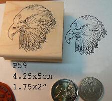 P59 Eagle rubber stamp WM