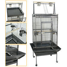"Parrot Open PlayTop 68"" Large Bird Cage Cockatiel Macaw Conure Aviary Finch Cage"