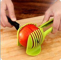 Handheld Lemon Shreadder Round Slices CHANS Tomato Slicer Fruit Vegetable Cutter