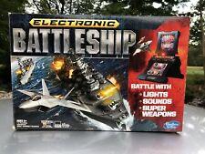 Electronic Talking Battleship Game Hasbro Gaming 2012 Complete! Works!