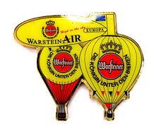 WARSTEINER BALLON Pin / Pins - 3er HEISSLUFT,GAS & ZEPPELIN (3271)