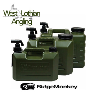 RidgeMonkey Heavy Duty Carp Fishing Water Container Jerrycan *5L,10L,15L*