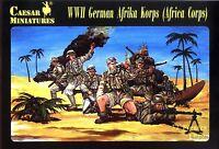 Caesar Miniatures 1/72 070 WWII German Afrika Korps (Africa Corps) (32 Figures)