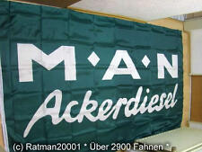 Fahnen Flagge MAN Ackerdiesel - 150 x 250 cm