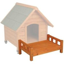 Dog House Wood Outside Treat Den Town Crate Kennel Yard Pet Toy Sleep Bed PIN