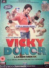 VICKY DONOR - AYUSHMAN SHARMA - NEW ORIGINAL BOLLYWOOD DVD