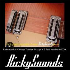 2 x  Rickenbacker 7.4 K Toaster Pickups For Guitar- its the 60's again.