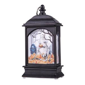 Distinctive Lamp Flame Light LED Halloween Hanging Lantern Decoration Light