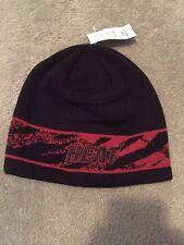 Miami Heat Adidas Adult Black Knit Winter Hat NBA Team Apparel New