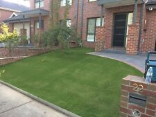 SYNTHETIC ARTIFICIAL FAKE GRASS TURF- NATIVE GREEN 30mm PILE HEIGHT