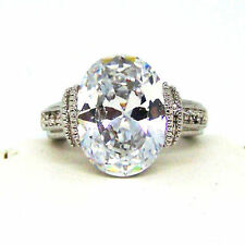 Cubic Zirconia Solitaire Fashion Rings
