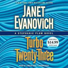 Janet Evanovich TURBO-TWENTY THREE Unabridged CD *NEW* FAST Ship !