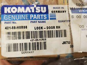 Genuime OEM Komatsu RH Door Lock (P/N: 421-56-H0R06) Screws included