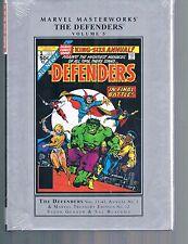 Marvel Masterworks Defenders Vol 5 by Gerber & Buscema HC 2015 Marvel Comics