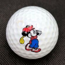 Mickey Mouse Logo Golf Ball (1) Mickey Club de Golf Preowned
