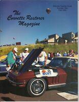 """1966 Corvette Duntov Award-winning - """"NCRS"""" The Corvette Restorer VOL.23, 1996"""