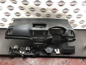 2012 VW VOLKSWAGEN SHARAN 7N MK2 AIR BAG AIRBAG KIT DASHBOARD SEAT BELTS KNEE