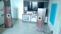 PAIR of USSR Full Range Speakers 10GDSH-1-4 (10GD-36K) 8 inch, 15W, 4Om, 20 kHz