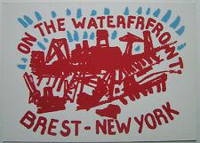 WILLIAM MACKENDREE  - Carton d invitation SERIGRAPHIE - 2004