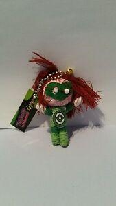 Green Lantern Voodoo Doll Keyring Key Chain keyfob charm string wool girls boys