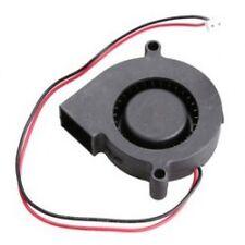 Black Brushless DC Cooling Blower Fan 5015S 12V 0.1-0.3A 50x15mm