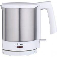 Cloer Wasserkocher 4701 Edelstahl-Weiss 1,5 l Fassungsvermögen 2.000 Watt
