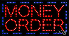 """New """"Money Order"""" 32x17 Solid/Animated Led Sign w/Custom Options 21094"""
