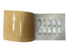 10 holes Manual Blister Card Sealing machine capsule/ granules sealer for 0#2*5
