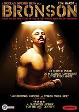Bronson (DVD) US Import Region 1 Tom Hardy Nicolas Winding Refn Like New!