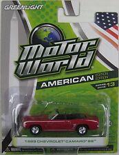 GREENLIGHT MOTOR WORLD 1969 CHEVROLET CAMARO SS American Edition Series 13 1:64