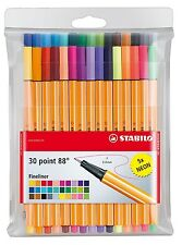 Stabilo 30 Point 88 Fineliner 0.4mm Pens For Fine Writing, Drawing & Sketching