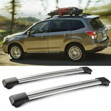 For 2014-2018 Subaru Forester Adujstable Aluminum Roof Rack Cross Bar Lockable