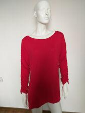 designed by STEFFEN SCHRAUT women's top long sleeve red size L
