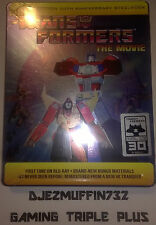 TRANSFORMERS 30TH ANNIVERSARY LIMITED BLU-RAY STEELBOOK + POSTER (SHOUT FACTORY)