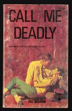 Hal Braham, Call Me Deadly, Priory Books 1036, 1957 Paperback