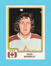 Glen Sharpley Team Canada Vintage 1979 Panini Hockey Sticker #63
