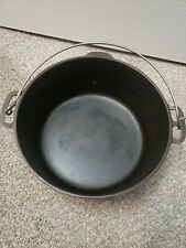 Vintage Wagner Ware Sidney -O- 1268 C Cast Iron Dutch Oven Pot Kettle