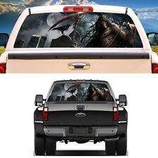 "Universal Car Truck SUV Rear Window Graphic Decal Tint Cemetery Sticker 22""x 65"""