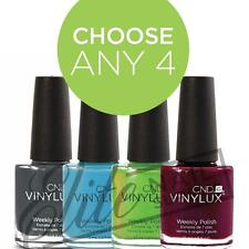 CND VINYLUX Weekly Polish 15ml - Any 4 Colours