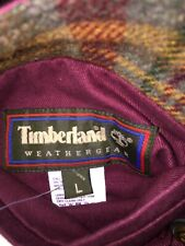 Timberland Coat,mens,reversible,hipster,checked,weathergear,large,outdoors,NWOT