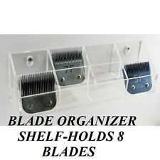 Pro Grooming CLIPPER BLADE HOLDER SHELF Organizer Case for Oster,Andis,Wahl,etc.