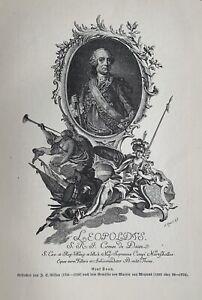 Leopold Joseph von Daun - Fürst von Teano - österreichischer Feldmarschall