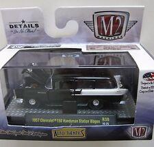 `57 Chevrolet 150 Handyman Wagon Nomad 1957 *** M2 Machines 1:64 RAR
