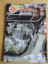 VJMC TANSHA MAGAZINE APRIL 2007 SUPER BRIGHT PLATING VFR750 YAMAHA XS650 WELDING