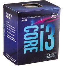 INTEL CORE 8ª GEN I3 8100 COFEELAKE 4 NUCLEOS A 3,6GHZ  SOCKET 1151 8 GT/s